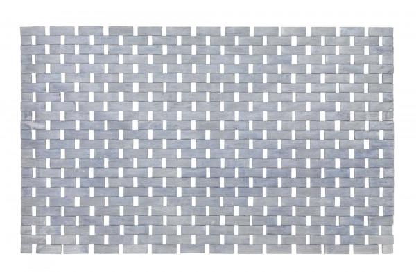 Badematte Bamboo Grau 50 x 80 cm