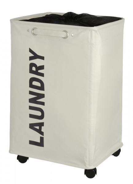 Wäschesammler Quadro Beige Wäschekorb, 79 l