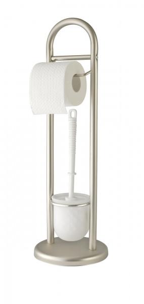 Stand WC-Garnitur Siena Chrom Satiniert
